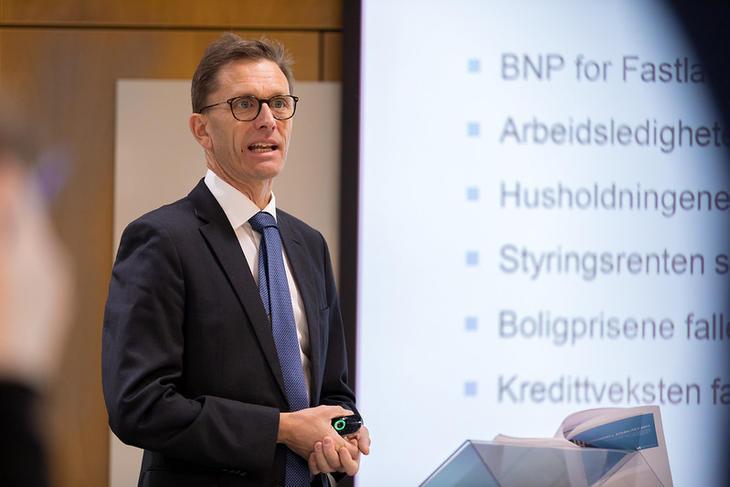 Direktør for finansiell stabilitet i Norges Bank, Torbjørn Hægeland. Foto: Nils S. Aasheim/Norges Bank.