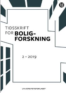 Tidsskrift for boligforskning 2-2019.