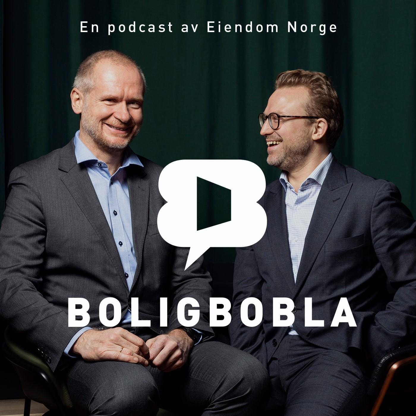 Podcasten Boligbobla fra EIendom Norge