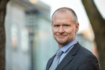 Eiendom Norge-direktør Henning Lauridsen.