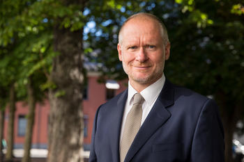 Administrerende direktør i Eiendom Norge, Henning Lauridsen. Foto: Johnny Vaet Nordskog.