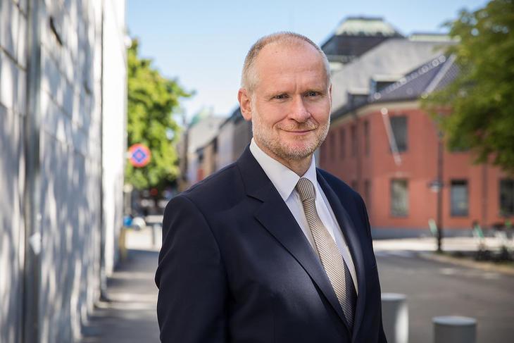 Eiendom Norge-direktør Henning Lauridsen. Foto. Johnny Vaet Nordskog