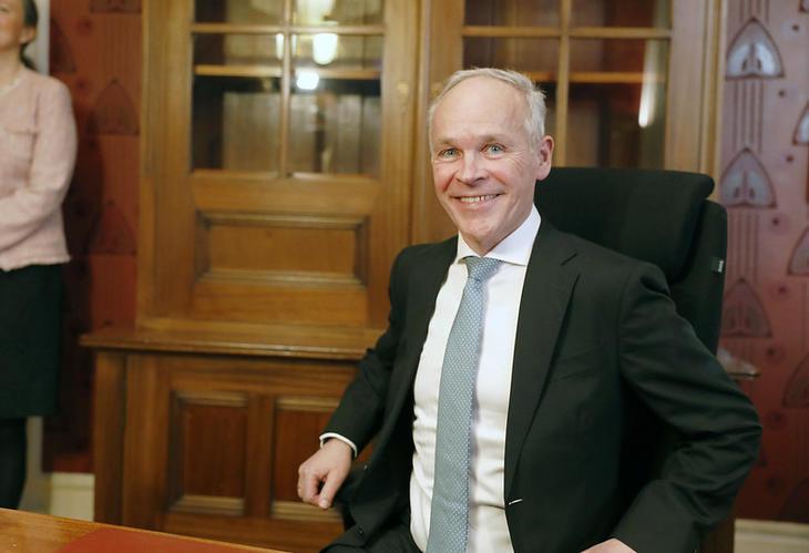 Finansminister Jan Tore Sanner (H). Foto: Finansdepartementet.