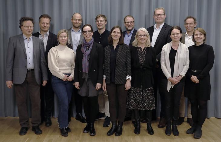 Eiendomsmeglingsutvalget. Foto: Finansdepartementet.