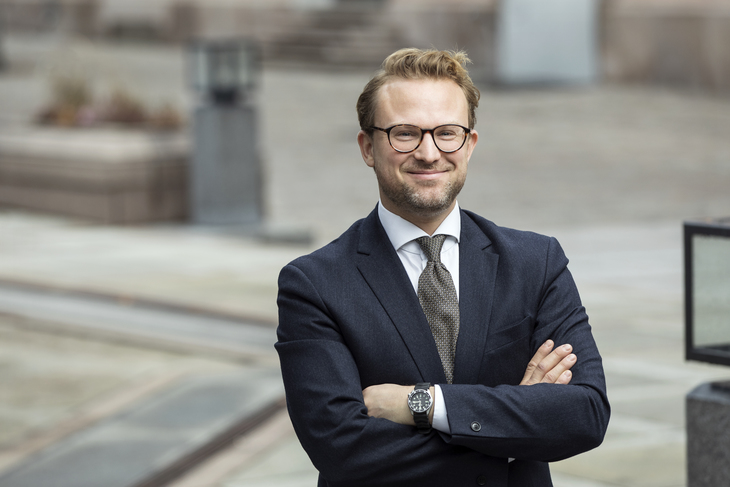 Erik Lundesgaard. Foto: Johnny Vaet Nordskog.