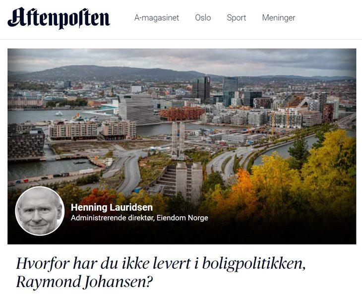 Faksimile Aftenposten 2. september 2021.