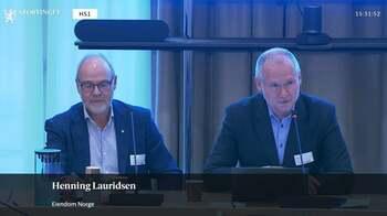 Skjermdump: Stortinget.no