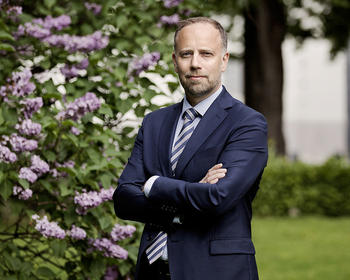 Eiendom Norge-direktør Christian Vammervold Dreyer. Foto:Solfrid Sande
