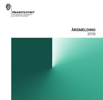 Skjermdump Finanstilynets årsmelding s. 1