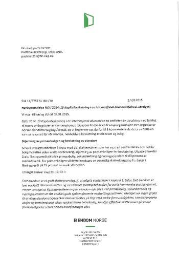 Høringssvar Scheel- Utvalget