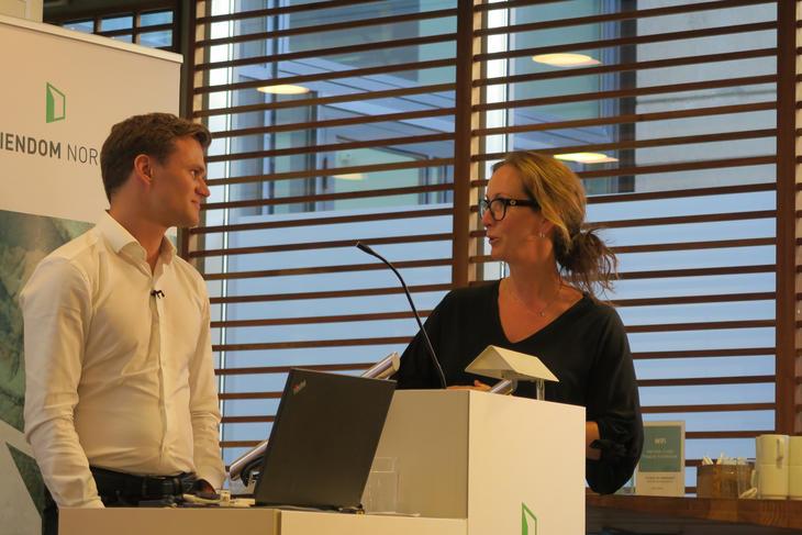 Anders Oberstad og Hanne Nordskog-Inger