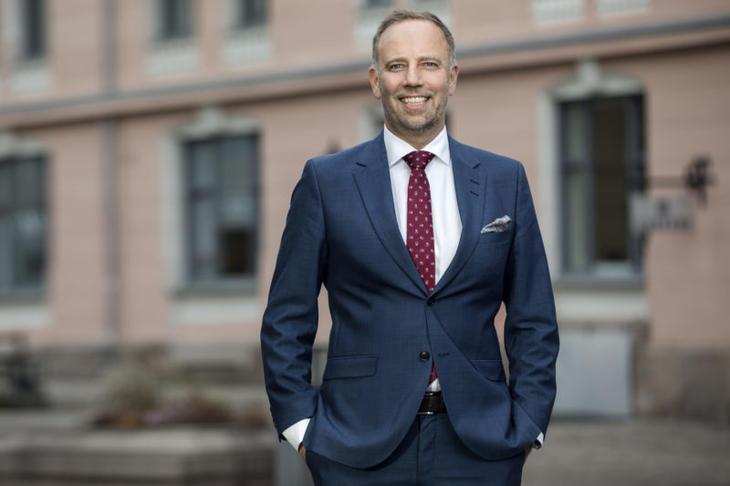 Eiendom Norge-direktør Christian Vammervold Dreyer. Foto: Johnny Vaet Nordskog.