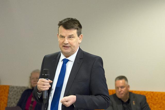 Justistminister Tor Mikkel Wara (Frp). Foto: Justis- og beredskapsdepartementet.