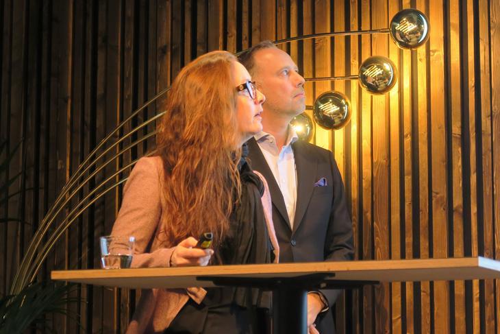 Hanne Nordskog-Inger og Christian Vammervold Dreyer
