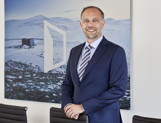Eiendom Norge-direktør Christian Vammervold Dreyer. Foto: Solfrid Sande.