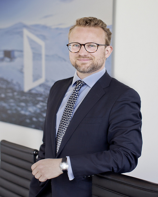 Kommunikasjonssjef Erik Lundesgaard i Eiendom Norge sier norsk boligbeskatning har et stort forbedringspotensial. Foto: Solfrid Sande.