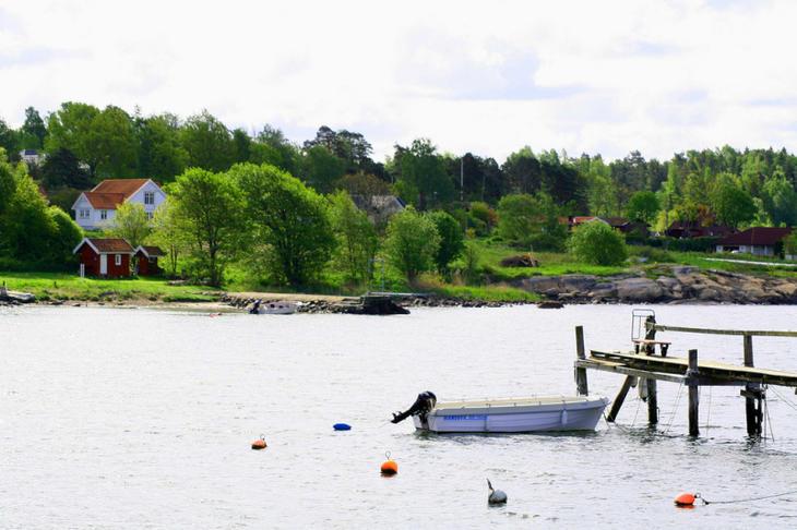 Fritidseiendom i Rygge kommune. Foto: Morten Brunslid/Visit Oslofjord
