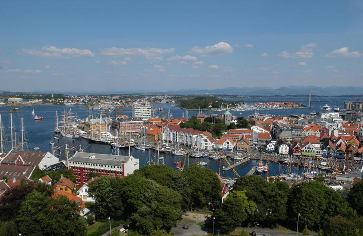 Stavanger sentrum. Foto: Siv Egeli, Stavanger kommune