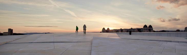 Operaen og Havnelageret i Oslo.