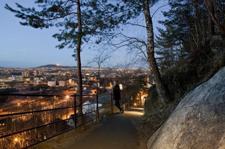 Utsyn over Oslo fra Ekeberg. Foto: Solfrid Sande