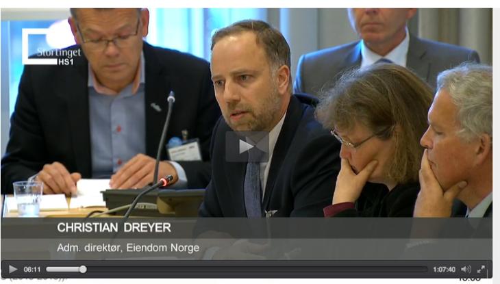 Adm. direktør, Eiendom Norge - Christian Dreyer