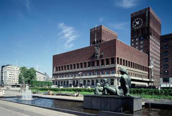 Oslo Rådhus. Foto: Jiri Havran/Rådhusets Forvaltningstjeneste.