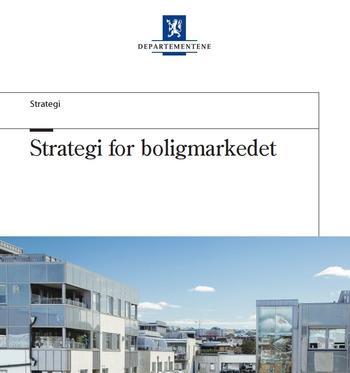 Strategi for boligmarkedet.