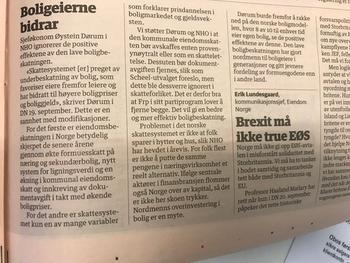 Faksimile Dagens Næringsliv 26.09.2017
