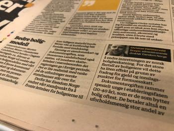 Faksimile: Dagens Næringsliv, 2. mars 2018.