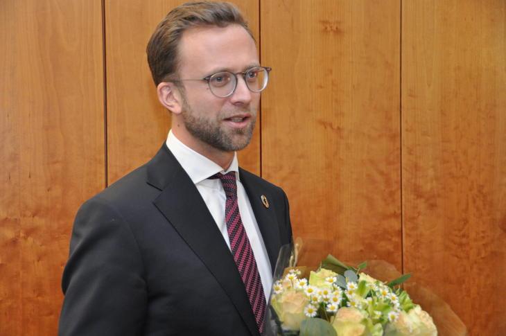 Digitaliseringsminister Nikolai Astrup (H). Foto: Kommunal- og moderniseringsdepartementet,