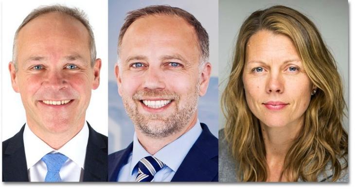 Panelet: Jan Tore Sanner, Christian Vammervold Dreyer og Gro Sandkjær Hanssen