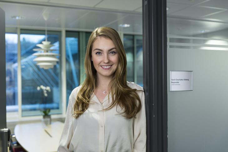 Statsekretær i justisdepartementet Toril Charlotte Ulleberg Reynolds. Foto: Olav Heggø, Fotovisjon