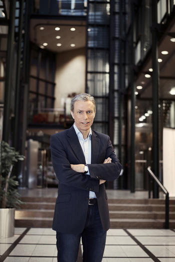 Administrerende direktør i Schibsted-konsernet, Rolv Erik Ryssdal gjester Eiendom Norge-konferansen.