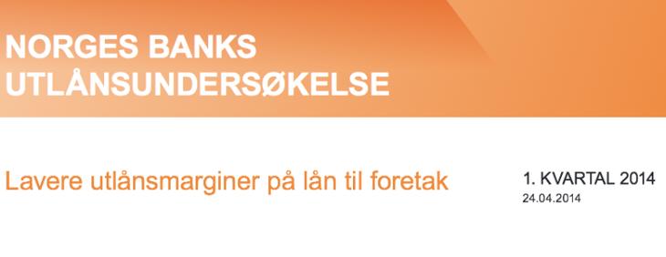 Norges Banks boliglånsundersøkelse.