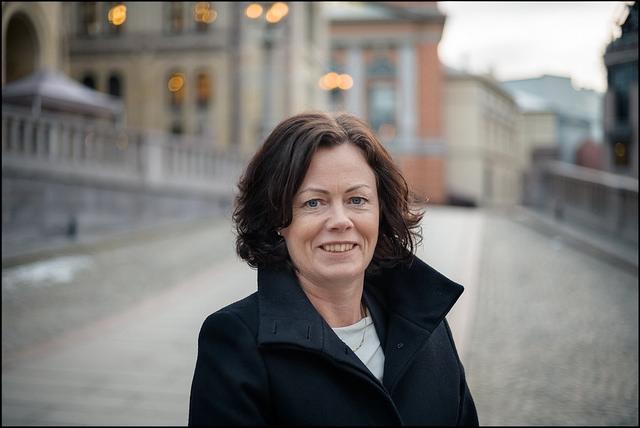 Statsråd Solveig Horne (Frp), Barne- og ilkestillingsdepartementet. Foto: Frp.