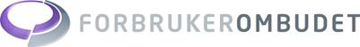 Forbrukerombudets logo.