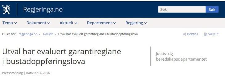 regjeringen.no