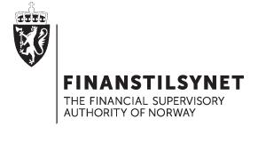 Skjermbilde fra Finanstilsynets nettside.