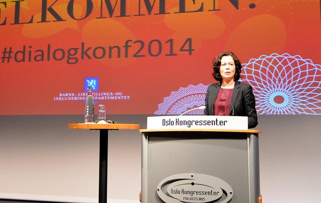 Statsråd Solveig Horne i Barne-, likestillings- og inkluderingsdepartementet