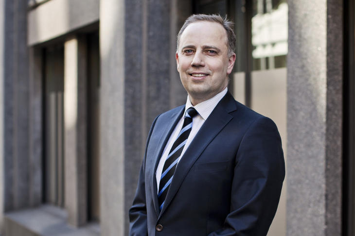 Administrende direktør i Eiendom Norge, Christian Vammervold Dreyer. Foto: Solfrid Sande.