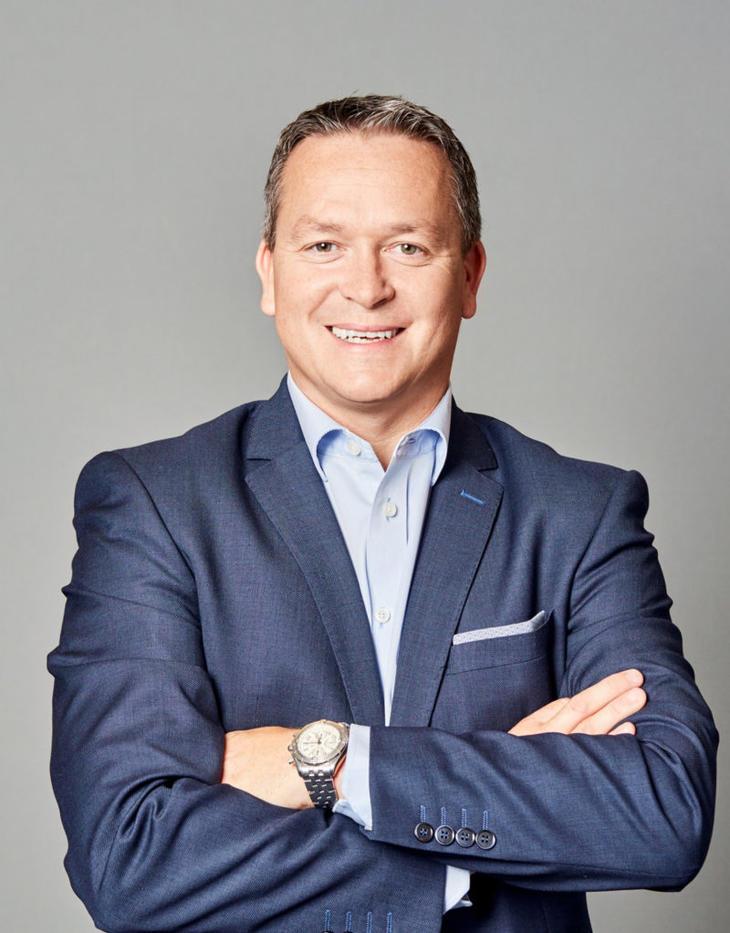 Administrerende direktør Stian Kløfta. Foto: Krogsveen.